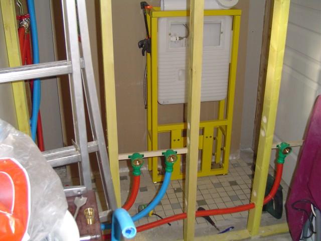 Salle de bain et wc agrandir notre maison - Materiel salle de bain ...